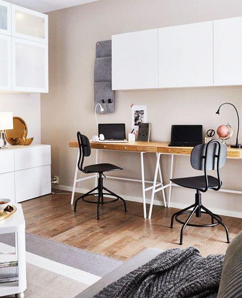 Scrivania Ikea Effektiv.How To Make Your Apartment Feel 10 Times Bigger According