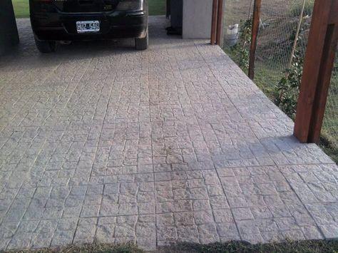 Baldosones De Cemento Pisos Adoquines Mosaicos Veredas 16 00 En Mercado Libre Patio De Cemento Piso Para Patio Baldosa De Cemento