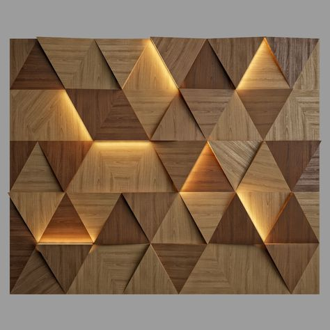 Wall Panel 7 3D model MAX BIP OBJ MTL 3DS FBX