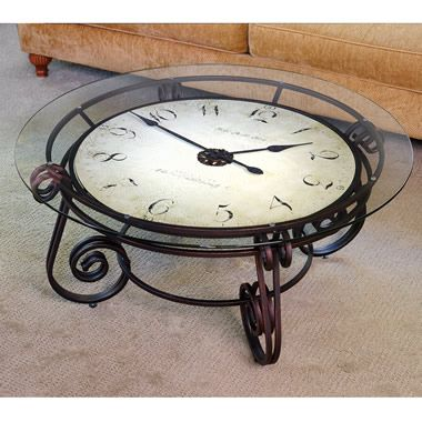 17 Best CLOCK TABLES Images On Pinterest
