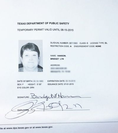 33 Best Driver License Templates Drivers Permit Texas Department Driving License