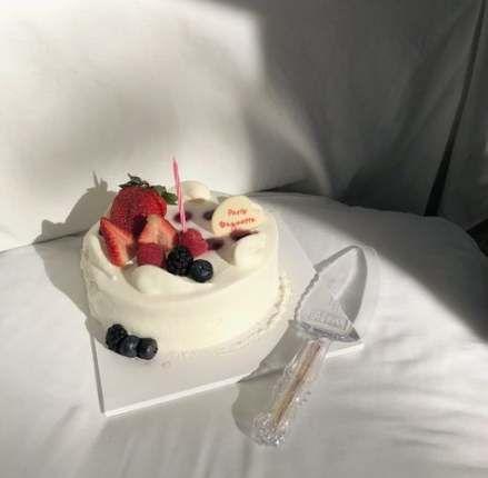 Sensational New Cake Birthday Aesthetic Korean Ideas Cake Birthday Funny Birthday Cards Online Elaedamsfinfo