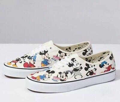 Vans Disney Mickey Mouse Birthday White