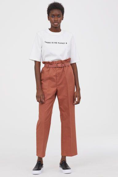 Paper bag bukse Modell | Rebeldes