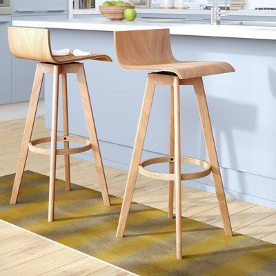 Dery Swivel Bar Counter Stool Seat Height Counter Stool 24