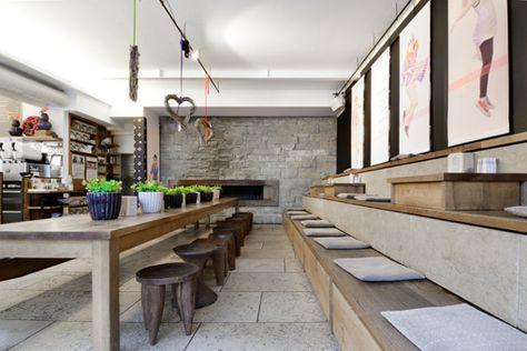 Klee am Hanslteich T 01 48 05 150, Restaurant, Amundsenstraße - ein individuell und liebevoll gestaltetes deluxe apartment tel aviv