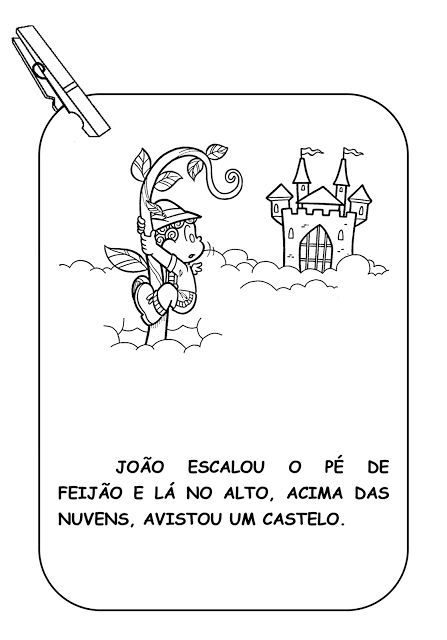 Alfabetizando Com Monica E Turma Varal De Historia Joao E O Pe