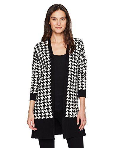 Chaus Womens Long Sleeve Shawl Collar Cardigan
