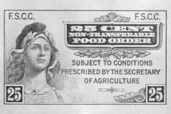 The History Of Food Stamps And Snap First Food Stamp Washington