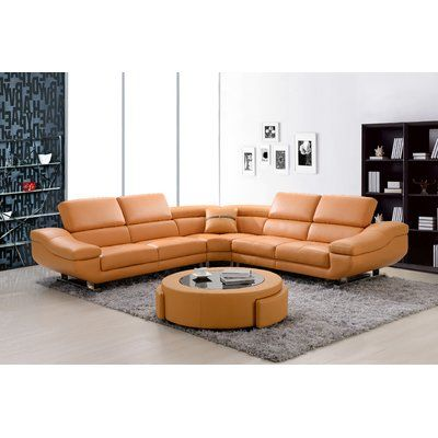 Pin On My Saves, Fake Leather Curved Sectional Sofa