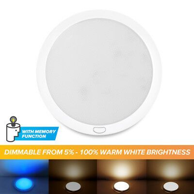 Details About Rv Trailer Boat 12v 8 5 Led Switched Ceiling Light Fixture Dimmable Warm W Blue In 2020 Light Trailer Rv Lighting Led Recessed Ceiling Lights