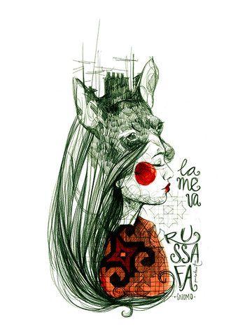"""""""La meua Russafa"""" · Ilustración de @paulabonet dedicada al barrio de Ruzafa, donde comenzó su carrera."""