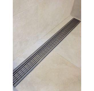 Luxe Linear Drains 26ww In 2020 Linear Drain Shower Drain Tile