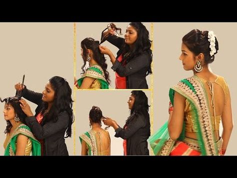 3 Easy And Quick Indian Wedding Hairstyles Valine Punamia
