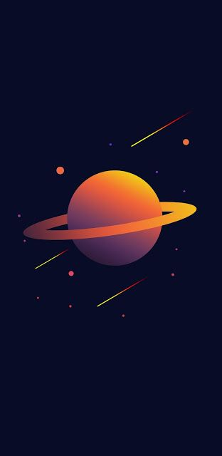 Minimalist Phone Wallpaper Collection 189 Planets Wallpaper Space Phone Wallpaper Saturn Planet Iphone 12 wallpaper 4k minimalist
