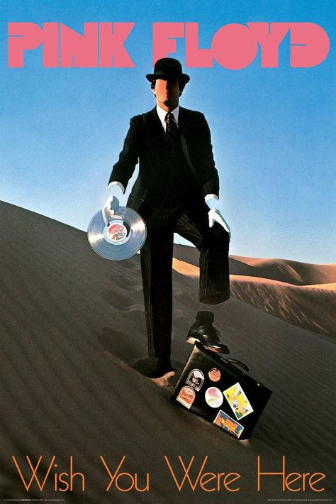 Pink Floyd - Wish You Were Here - Poster