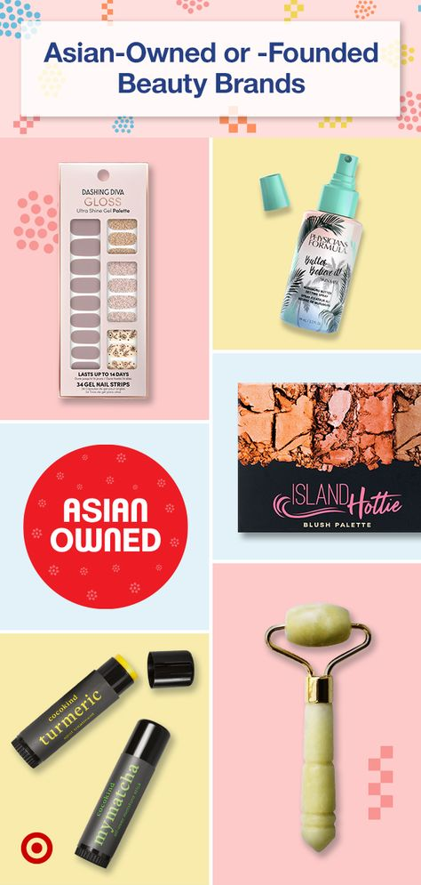 Support Asian-owned or -founded beauty  skincare brands that honor eastern culture  heritage. Find creative makeup products  tips for a natural or glam makeover.