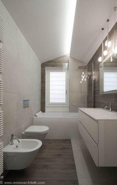 Minima Ristrutturazione Aventino Roma Bagno Interior Design Idee Vasca Da Bagno