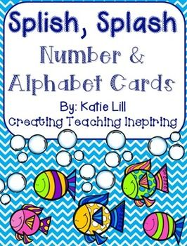 Be sure to look at the preview of this product, it gives great examples of the number line and alphabet cards!This is the perfect product to match your ocean animal theme classroom. This product includes number cards 0-20 and smaller number lines to place on student desks.