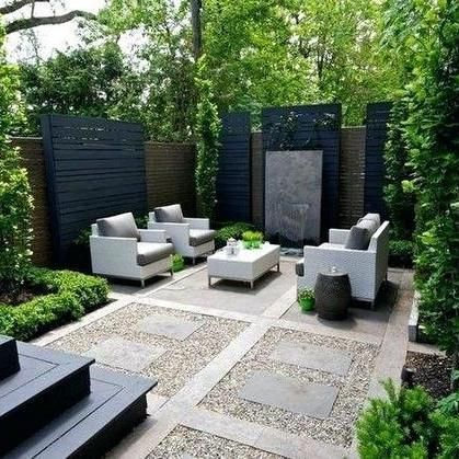 40 A Lawn Nursery Intended For Open Air Living Waddenhome Modern Backyard Landscaping Backyard Seating Area Small Backyard Landscaping