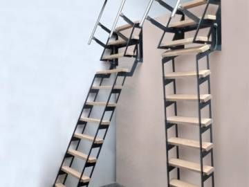 Zip Up Verschuifbare Trapladder Escalier Escamotable Echelle