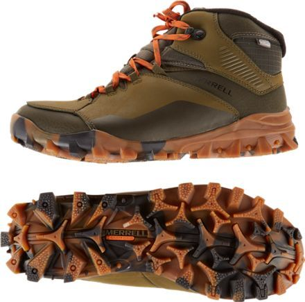 Merrell Men's Fraxion Thermo 6 Waterproof Winter Boots Clay