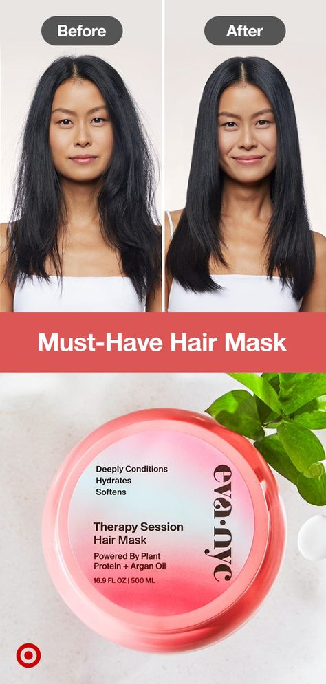Key to happy, healthy hair? A deep conditioning hair mask. Add this to your self-care routine to hydrate, soften, strengthen  keep frizz in check.