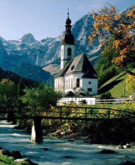 Autumn in Ramsau, Bavaria