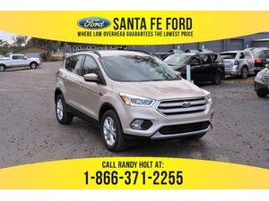 2018 White Gold Metallic Ford Escape Sel 380781 Ford