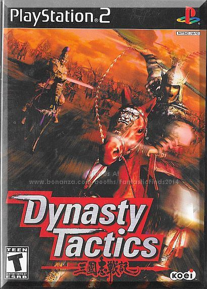 Ps2 Dynasty Tactics 2002 Complete With Case Instructions