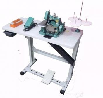 Maquina De Costura Overlock Semi Industrial C Mesa E Motor