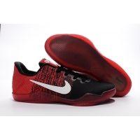 Nike Kobe 11 XI low red black white shoes