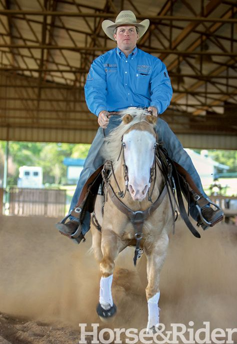 Stay Free in the Stop. Use your feet the right way when stopping your horse.