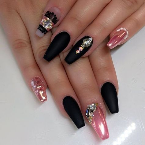 45 Pretty Winter Nails Art and Colors 2016
