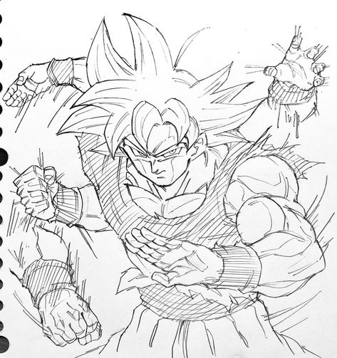 Goku Ultra Istinto Da Colorare