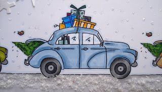 Uber Weihnachten Nach Hause Fahren Papierkunst Eindrucksvolle Arbeiten Der Besten Papierkunstler Toy Car Character Fictional Characters