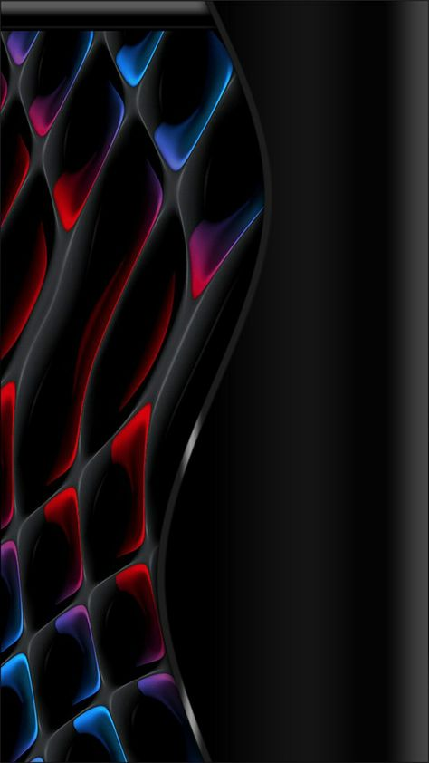 Red Blue Black Abstract Abstract Wallpaper Abstract Android