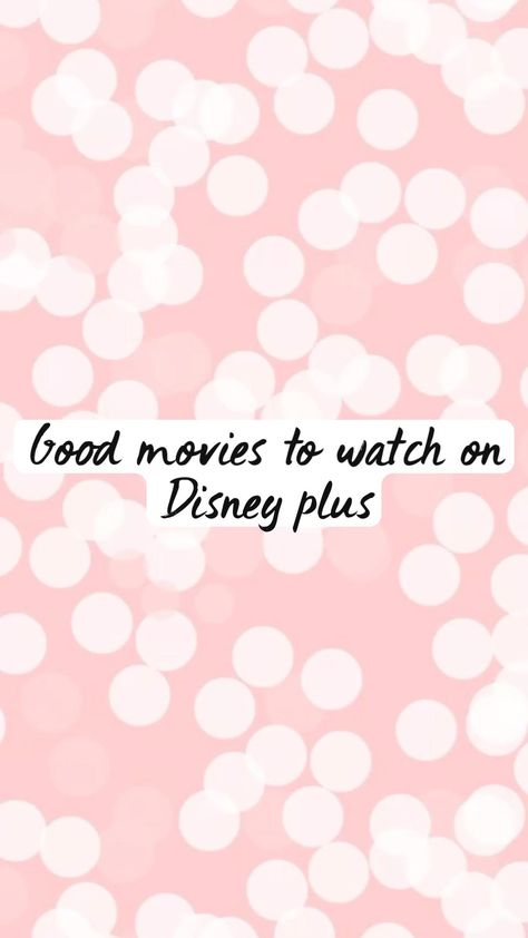 Good movies to watch on Disney plus