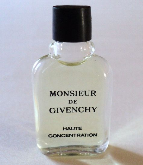monsieur de givenchy high concentration 80s unused Vintage