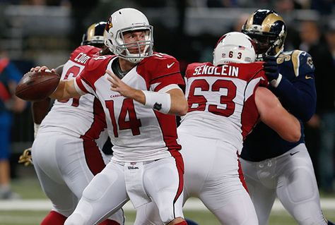 In a game the Cardinals need to win to clinch the NFC West title, they'll start third-option QB Ryan Lindley in Sunday's nationally televised game against the Seahawks and their No. 1-ranked defense.