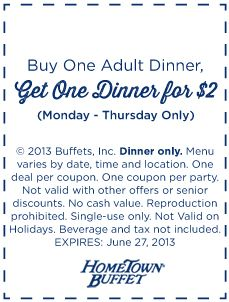 picture regarding Old Country Buffet Printable Coupons Buy One Get One Free called Pinterest