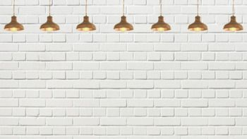 Zoom Background Image Brick Wall With Hanging Lights Hanging Lights Brick Wall Lights