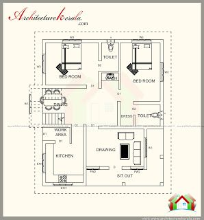 1600 Square Feet House Plan With Beautiful Elevation Architecture Kerala Modern Farmhouse Plans How To Plan Farmhouse Plans