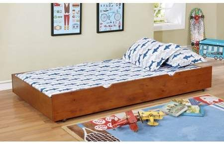 Furniture Of America Country Oak Wood Twin Size Convertible Trundle Drawers Adjustable Bed Frame Steel Bed Frame Low Profile Bed Frame