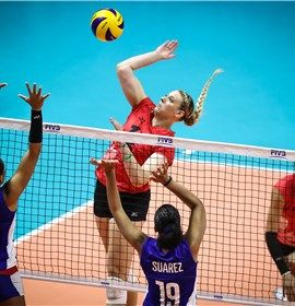 Post Match Canada Cuba Fivb Volleyball Women S World Championship Japan 2018 Olympic Volleyball Rio Olympics Rio Olympics 2016