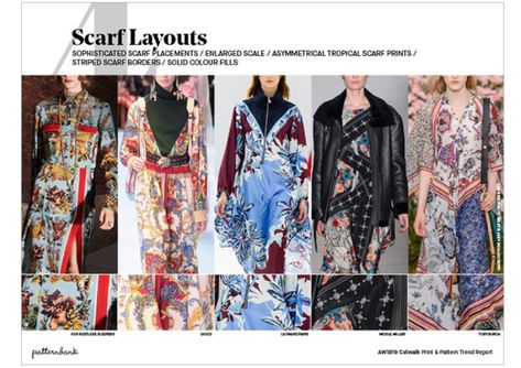 Scarf Layouts AW 19/20