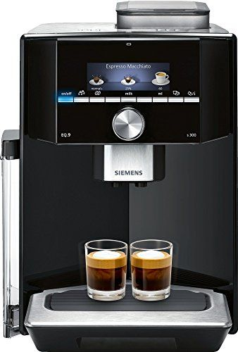 Siemens Eq 9 Ti903209rw Super Fully Automatic Espresso Machine Coffee Capuccino Latte Maker Onetouch Doublecup System Black With Images Espresso Machine Automatic Espresso Machine