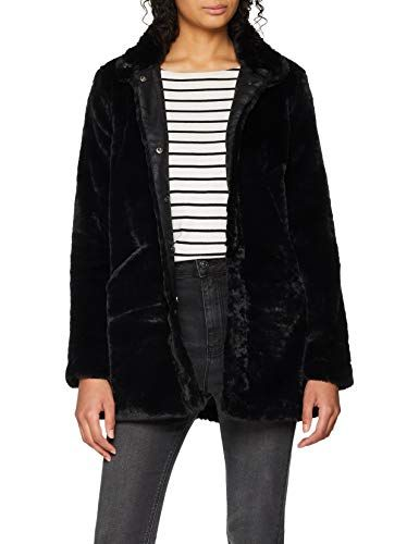 Only Onlvida Faux Fur Coat Otw Giubbotto Donna
