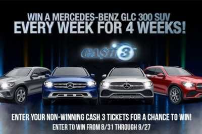 Enter Your Non Winning Cash 3 Tickets In The Georgia Lottery Cash 3 Car Giveaway At Cash3cargiveaway Com Page And You Could Make A Mercedes Benz Benz Mercedes