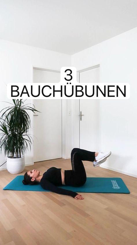 Workout: 3 Übungen für den Bauch für Zuhause oder im Fitnesstudio